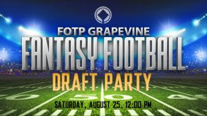 Fantasy Football League Draft Party | Grapevine Campus @ Grapevine Campus | Grapevine | Texas | United States