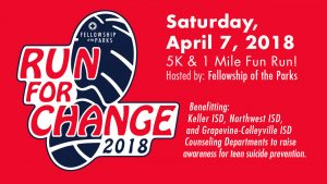 Run for Change | 5k & 1 Mile Fun Run @ Keller Campus | Keller | Texas | United States