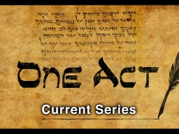 One Act-Banner