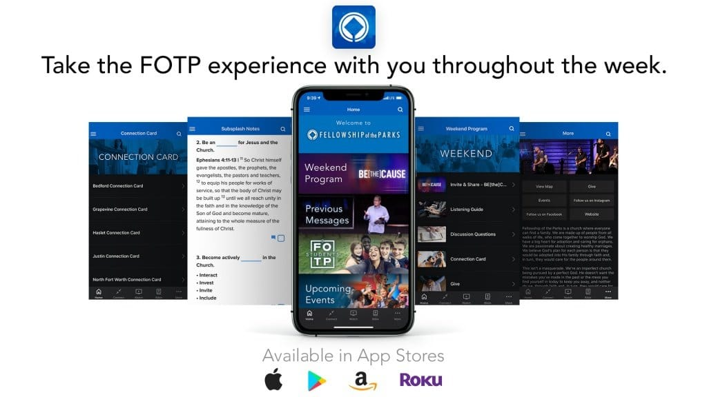 FOTP Church App